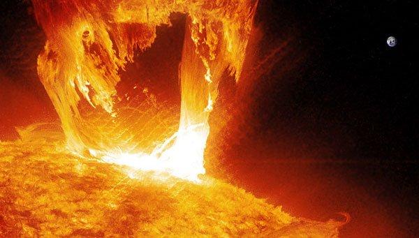 США чуть не начали ядерную войну из-за вспышки на Солнце