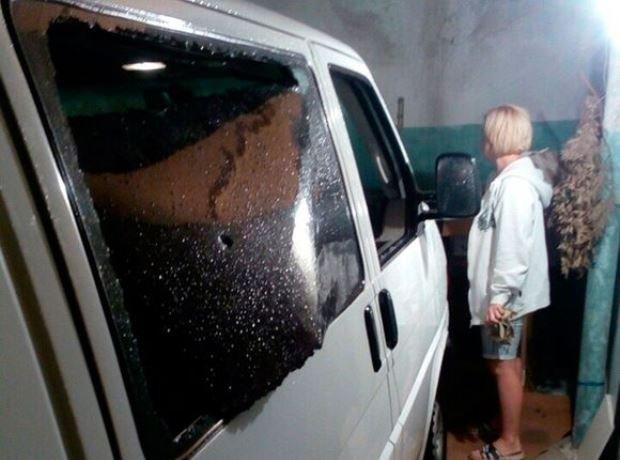 Микроавтобус Милонова попал под обстрел в ДНР