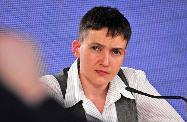 Савченко объяснила, почему она не может быть послом в РФ