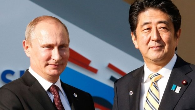 Абэ подарил Путину самурайский шлем, а в ответ получил катану