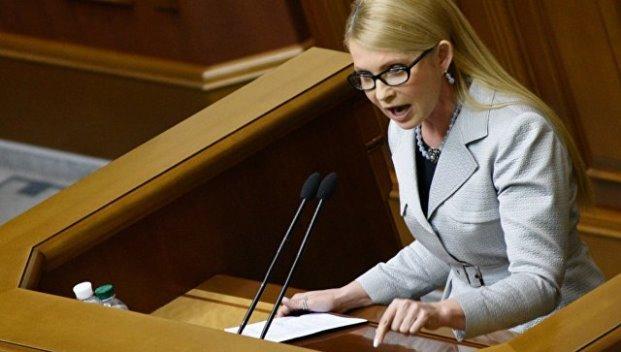 Тимошенко о поджоге здания «Интера»: это унижение и уничтожение Украины