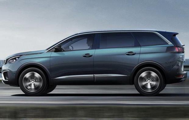 Компания Peugeot представила новый семиместный внедорожник