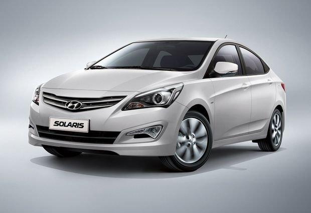 Hyundai Solaris стал лидером на автомобильном рынке Москвы