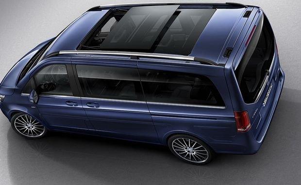 В России начались продажи минивэна Mercedes-Benz V-Class Exclusive