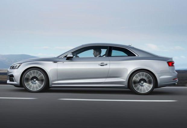 Компания Audi объявила цены на купе A5 нового поколения