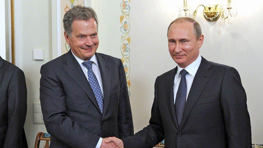 Путин изумил президента Финляндии