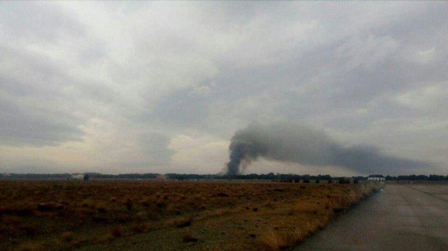 Boeing 707 разбился в окрестностях Тегерана