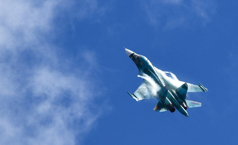 СМИ: На Дальнем Востоке столкнулись два истребителя Су-34