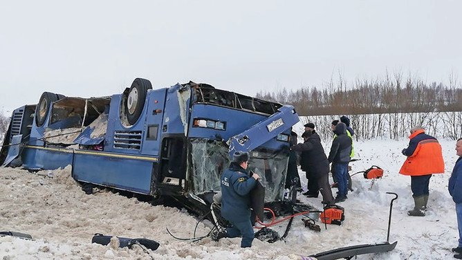 Смертельные танцы: автобус с детьми разбился под Калугой