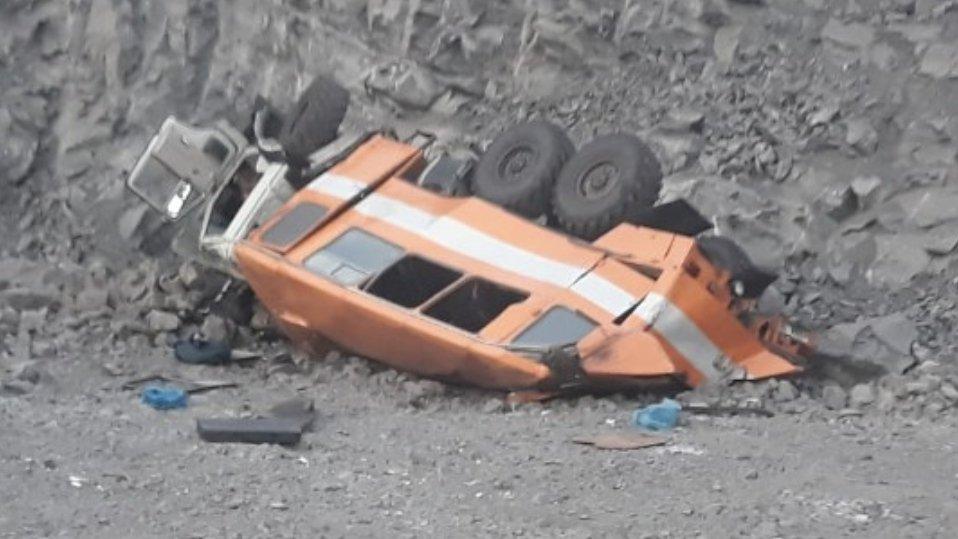 Жуткое ДТП с автобусом в Кузбассе: есть жертвы