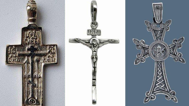 Чем нательный русский православный крестик отличается от католического, армянского и «староверского»