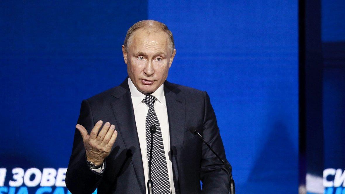 Путин рассказал об уходящем от России долларе