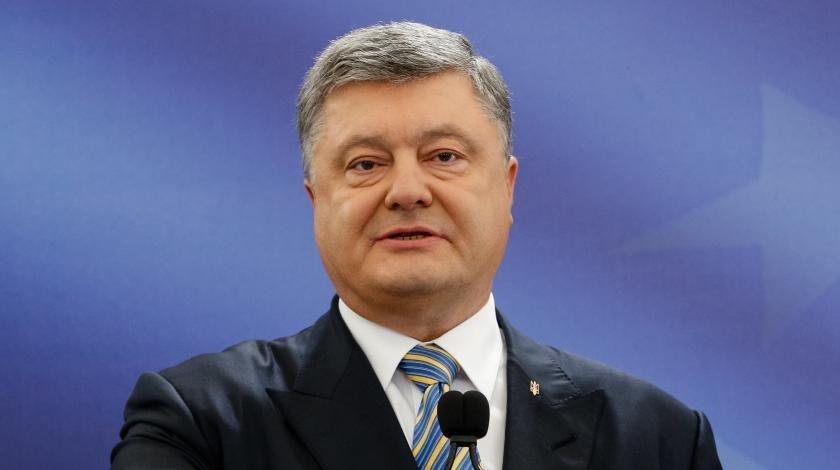 Наглый Порошенко объявил о своей победе на выборах