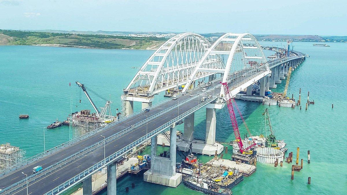 Названа причина обрушения дороги к Крымскому мосту