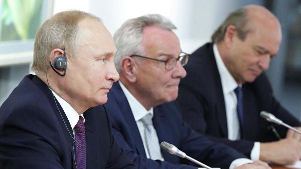 Путин назвал условие снятия ответных мер на санкции в отношении Евросоюза