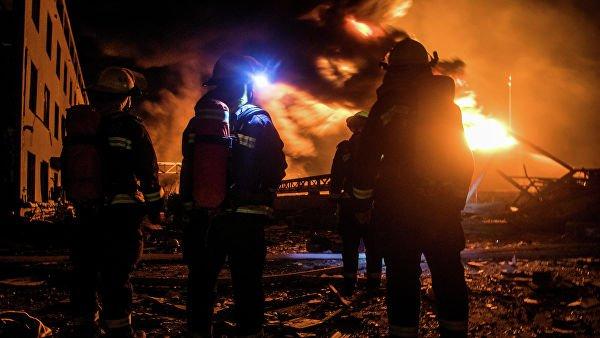 Число жертв взрыва на химзаводе в Китае возросло до 44 человек
