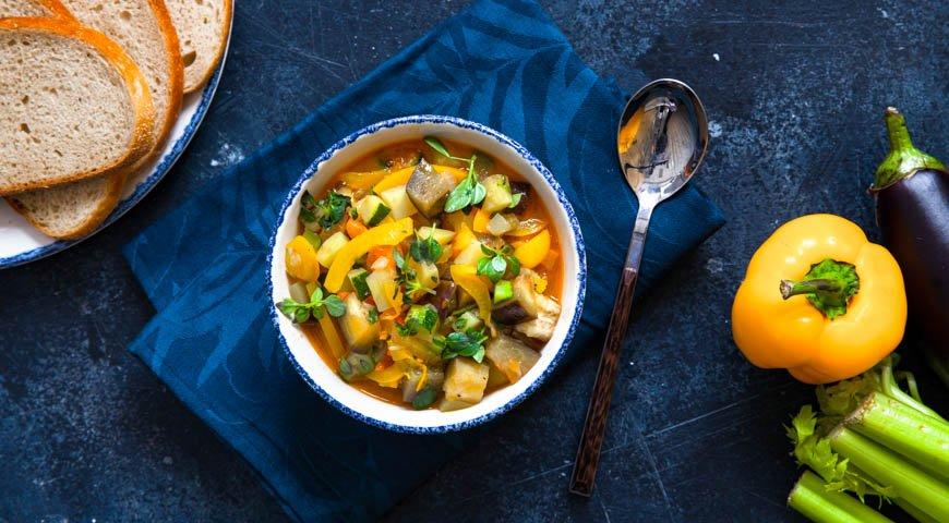 Чанфотта, овощное рагу по-сицилийски