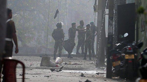 НаШри-Ланке прогремел новый взрыв