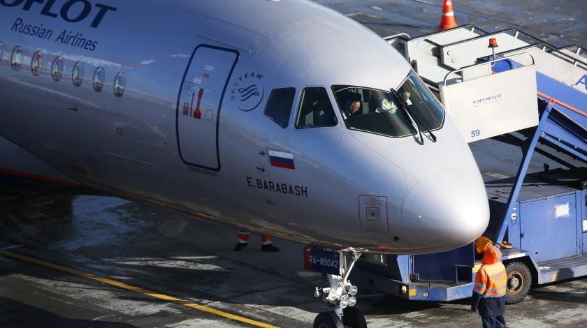 Названа причина пожара на борту самолета Москва-Мурманск