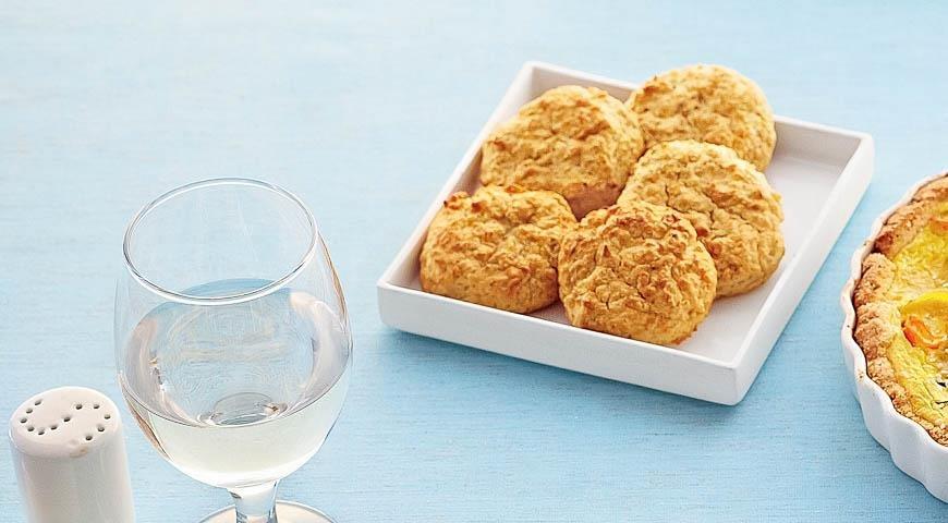 Закусочное печенье с пастернаком и киноа