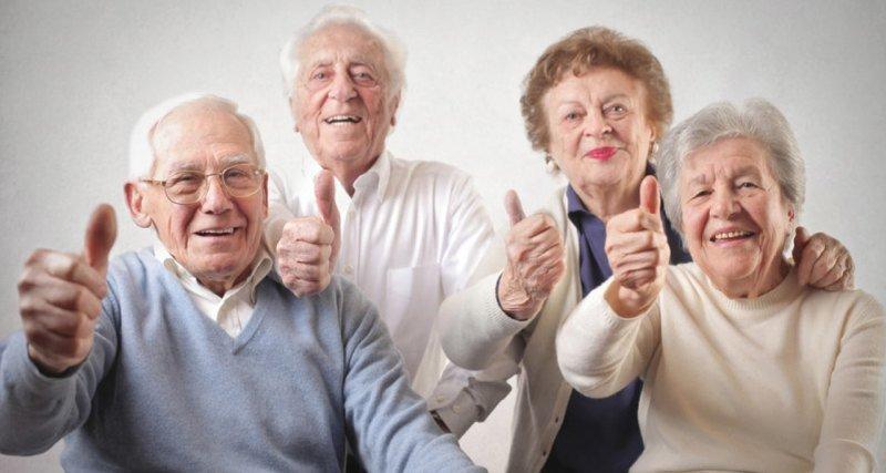 Признаки долголетия на лице