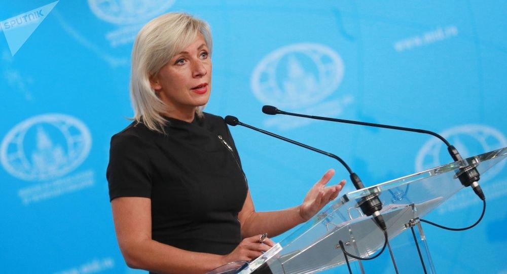 Захарова двумя словами ответила на оскорбление Путина на «Рустави 2»