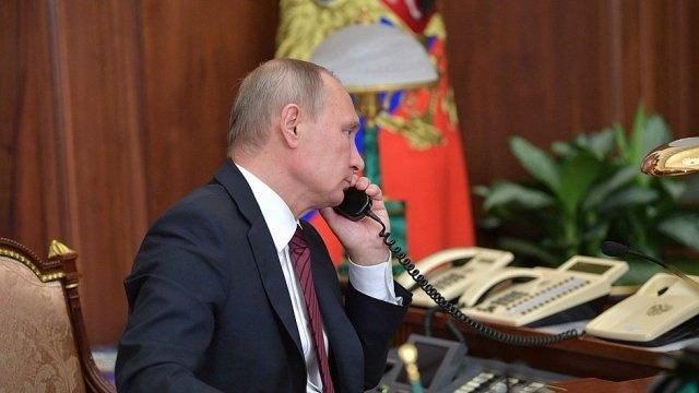 Трамп позвонил Путину и предложил помощь в тушении лесных пожаров