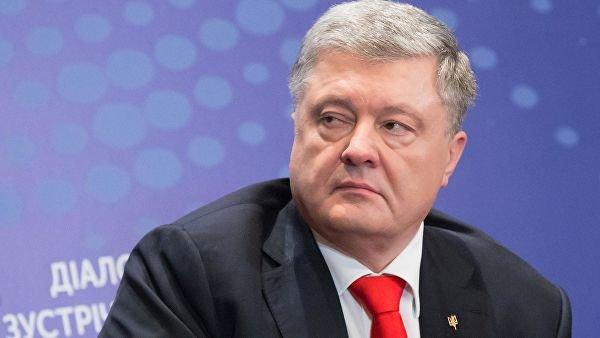 Сделано заявление об убийстве сбежавшего Порошенко