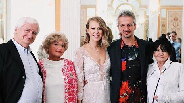 Во время свадьбы Собчак и Богомолова произошел конфуз