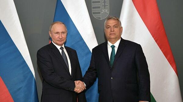 «Невообразимо!»: каквизит Путина вВенгрию вывел Запад изсебя