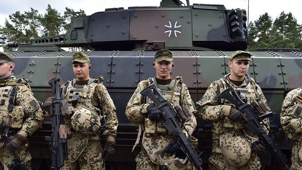 Германия хотела ввести войска вДонбасс