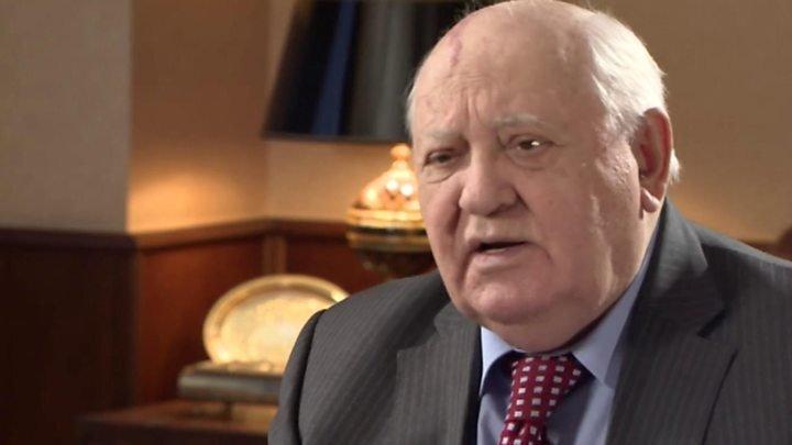 Горбачёв ответил на слова Путина о распаде СССР
