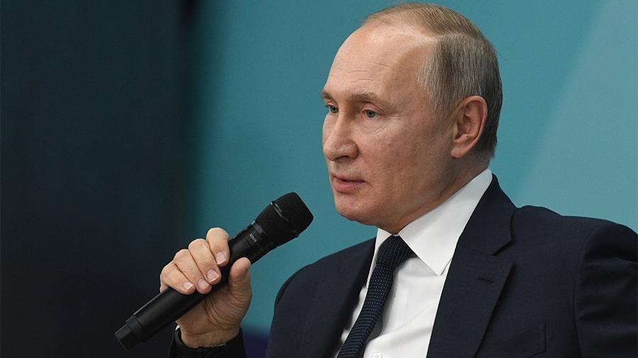 Путин проигнорировал Пенса на официальном мероприятии