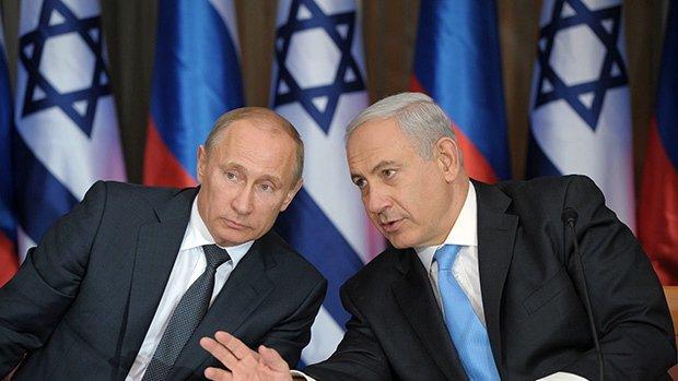 Путин запланировал встречу сНетаньяху вМоскве